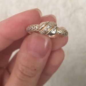 NEW Gold & Silver Ring